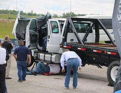 Fleet managers investigate an EZ-Trac 4x4 upfit on the new chassis.