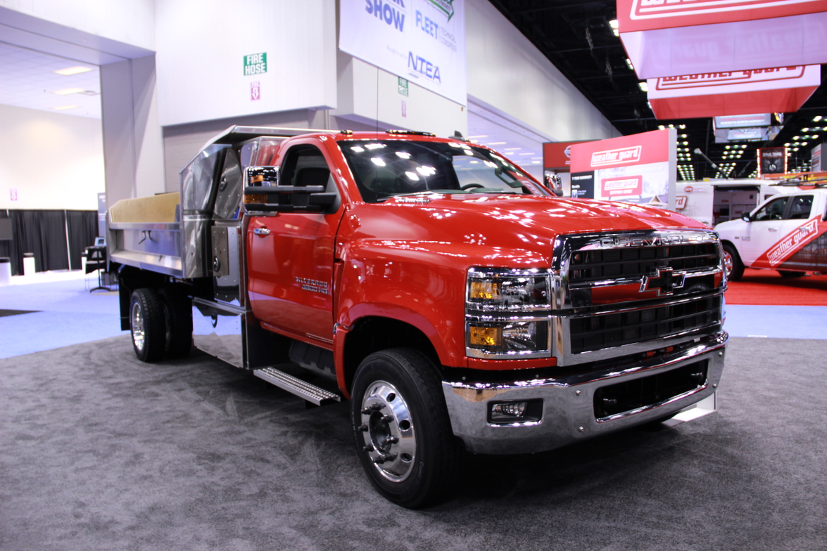 Chevrolet unveiled three Silverado HD chassis cab trucks — the 4500HD, 5500HD, and 6500HD — that...