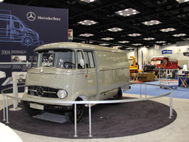 Mercedes-Benz brought some of its older models to show how far its commercial vehicle lineup has...