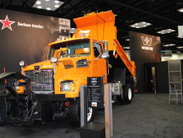 Western Star showcasedits 4700SF Snow Plow, which featured a 43,000-lb. GVWR.