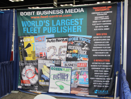The Bobit booth - from the world's largest fleet publisher.