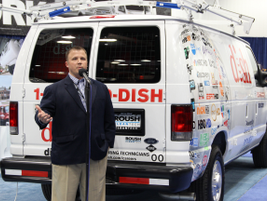 Todd Mouw, vice president of sales and marketing for ROUSH CleanTech unveiled that Dish Network...