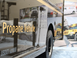 UPS tested 20 propane delivery trucks this past winter and expanded its order with Freightliner...
