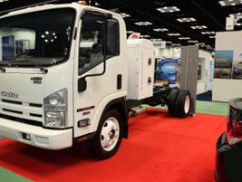 Isuzu Commercial Truck of America celebrated its 30th anniversary at the show, and introduced...