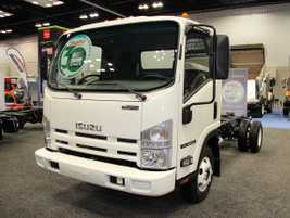 Isuzu Commercial Truck of America (ICTA) unveiled it's 2014 and 2015 model-year N-Series diesel...