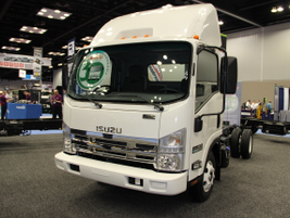 Isuzu Commercial Truck of America (ICTA) celebrated its 30th Anniversary at the show. (PHOTO:...