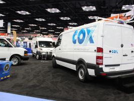 Cox Enterprise's has replaced more than 1,500 of it's current fleet of vans with the diesel...