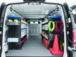 Vocational fleets often make use of rack and bin systems to keep materials safely stowed in the...