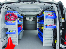 Overall, the job requirements for the vehicle will determine what rack and bin or other storage...