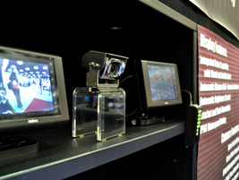 Intec Video Systems on display (can you find the photographer?).