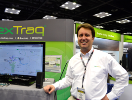 Frank Schieber with Nextraq, a telematics company for fleets. The company recently announced...