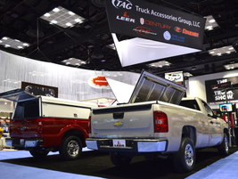 Truck Accessories Group showcased its all-new cover that allow easy access from the truck sides.