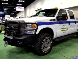 Venchurs Vehicle Systems brought its Ford 6.2L F-250/F-350 CNG conversions to the show, and...