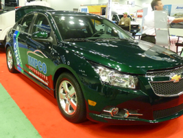 Impco Automotive offers a b-fuel CNG conversion for the Chevy Cruze. (PHOTO: Chris Brown)