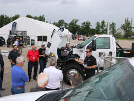 The F-750 with the 6.7L Power Stroke V-8 Turbo Diesel was compared with a 2015 model to...