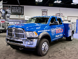 Ram Truck for Bosch Power Tools.