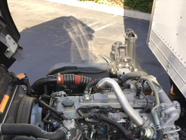 The NRR's 5.2L inline-4 turbo-diesel