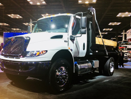 The International MV Series is a new Class 6/7 truck designed to be easily upfitted. Photo:...