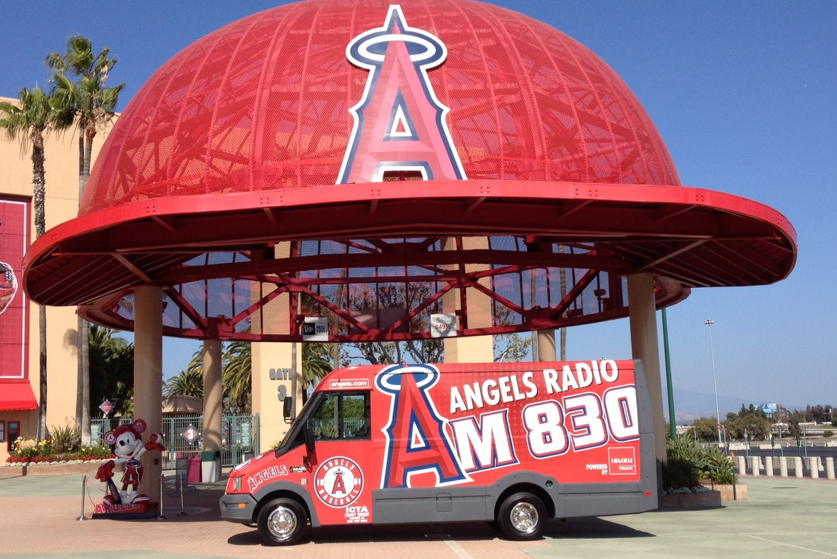 Isuzu 'Reaches' for Angels Radio