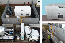 Modular CNG Fueling System