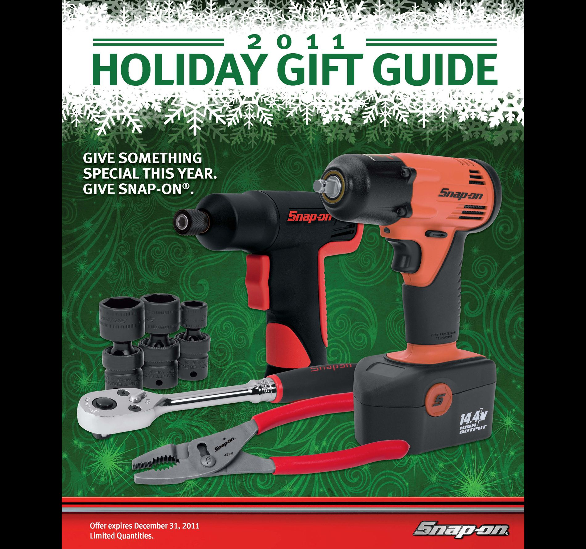 Snap-On Holiday Gift Guide