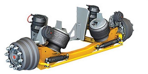 Neway LSZ Steerable Lift Axle Series