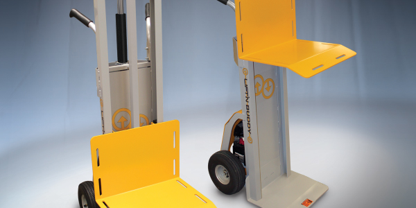 Two-Wheel Hand Truck with Powered Lift