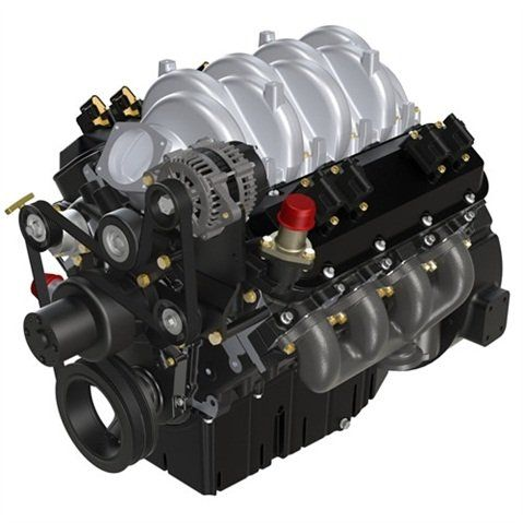 PSI's 8.8L Engine (PHOTO: PSI) -