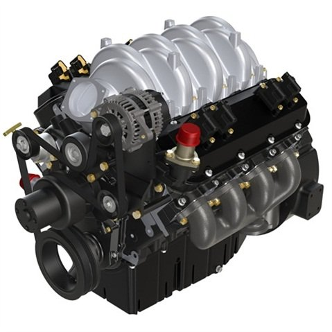 8.8L Engine with EPA Certification