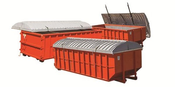 Heavy-Duty Covers for Roll-Off Containers