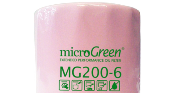Pink microGreen Extended Performance Oil Filters