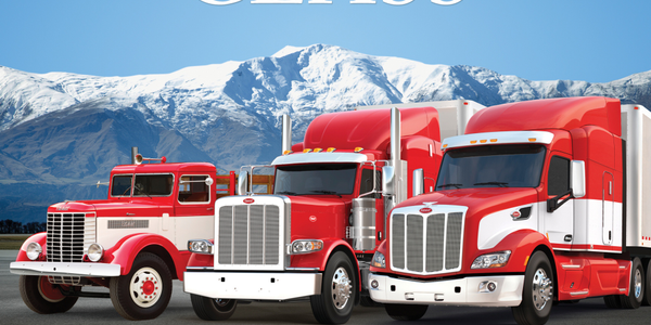 """Peterbilt 75 Years of Class"" Anniversary Book"