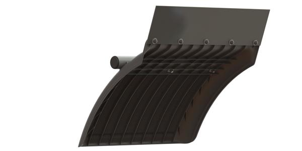 Lightweight Poly Fender with Anti-Spray