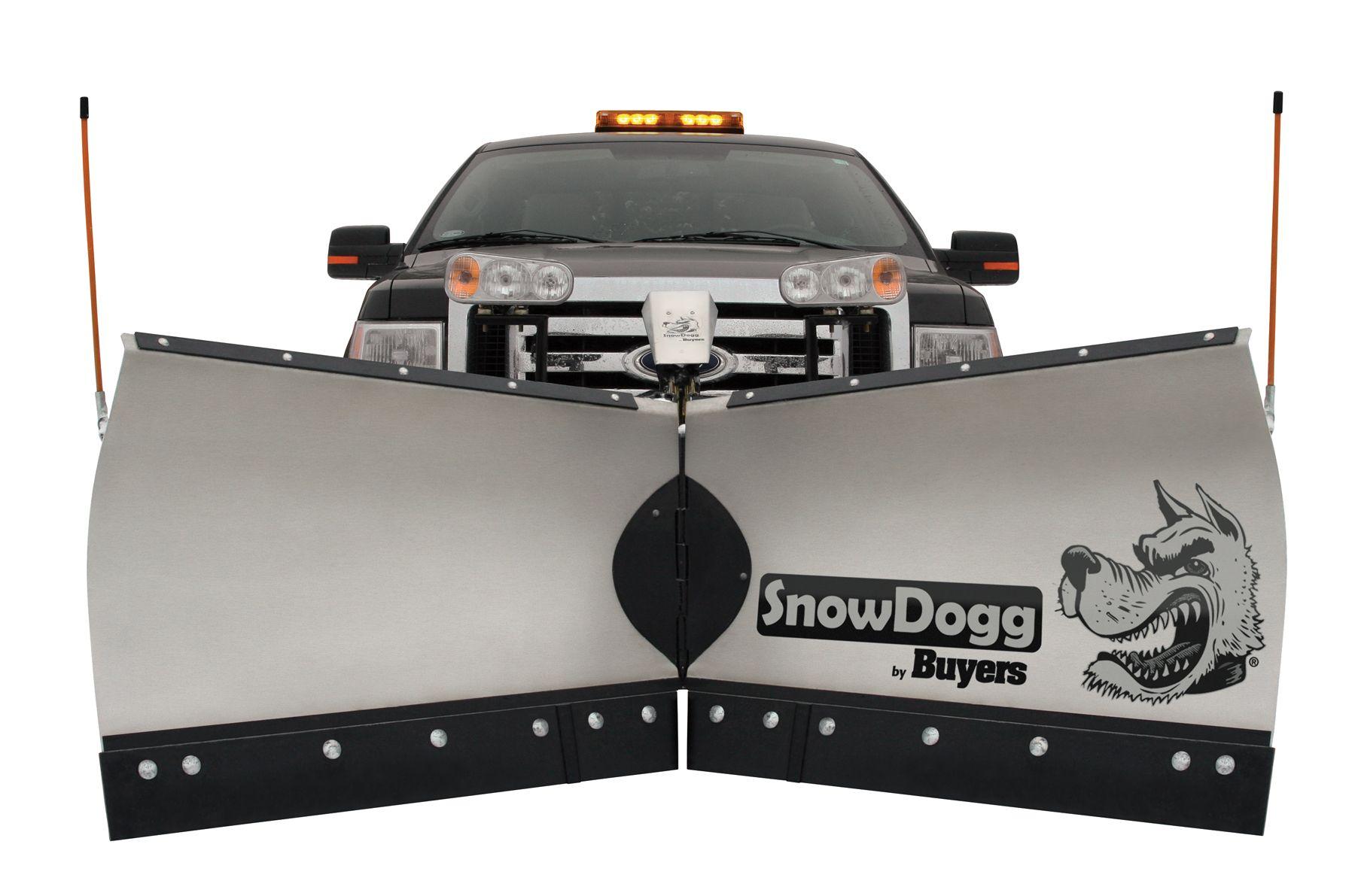 SnowDogg VMD Series medium-duty V-plow