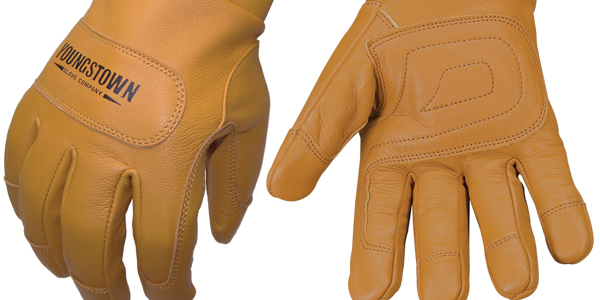 FR Waterproof Leather-Lined Gloves with Kevlar