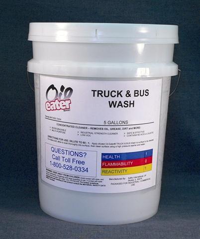 Oil Eater Truck & Bus Wash