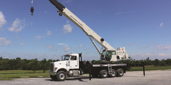 NTC55 Truck Crane