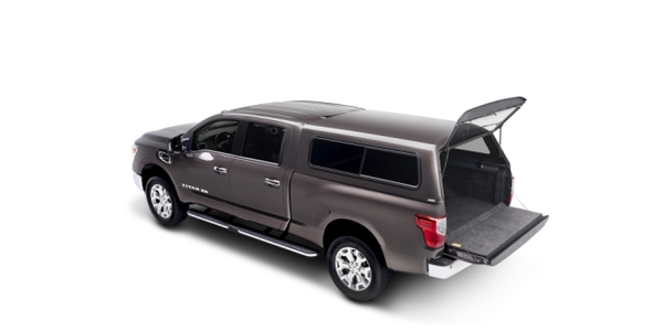 CX Series truck cap from A.R.E. on 2016 Nissan Titan XD (photo courtesy of A.R.E.)
