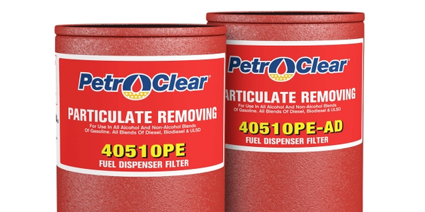 PetroClear's 40510PE and 40510PE-AD dispenser filters feature a gasket composed of UL-approved...