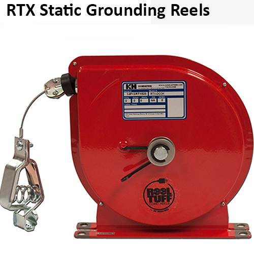 RTX Static Discharge Grounding Reels