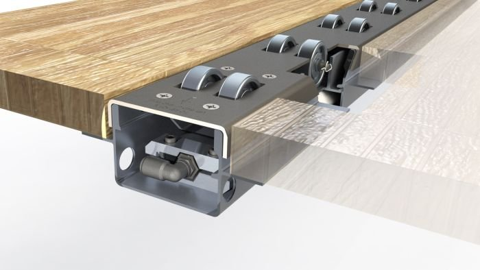 Retract-A-Roll 3 Roller Track System