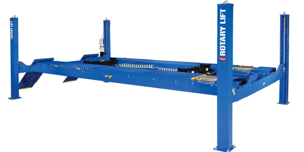The new Rotary Lift AR18 four-post alignment lift consists of modular components, enabling it to...