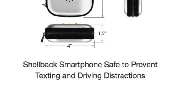 Shellback Smartphone Safe image courtesy of Shellback Business Services.