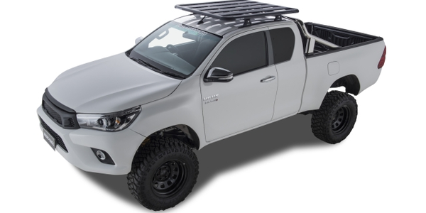 Toyota Hilux Extra Cab (photo of Australian truck courtesy of Rhino Rack - product is available...