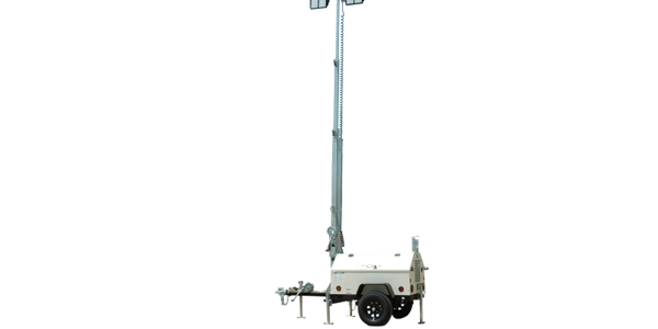 Mobile LED Light Tower & Diesel Generator