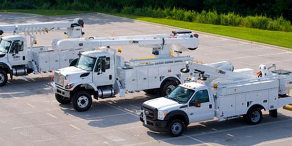 Fiberglass Utility, Service Bodies