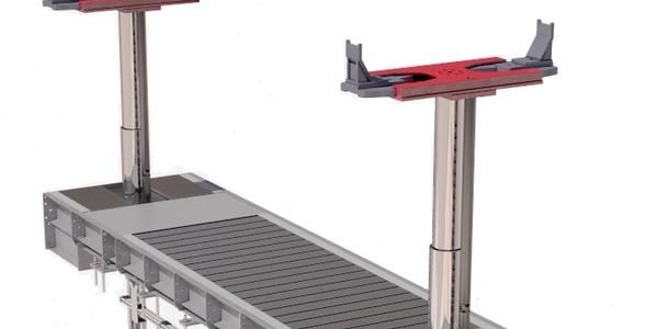 Image of Diamond Lift continuous recess on inground platform lift courtesy of Stertil-Koni.