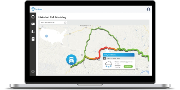 Patented technologies include real-time and forecast road conditions that identify dangerous...
