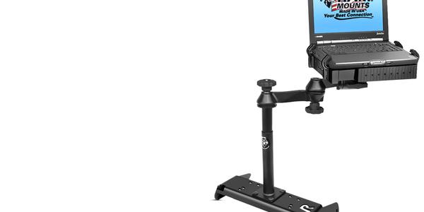 No-Drill Laptop Mount for 2014 Chevrolet Silverado