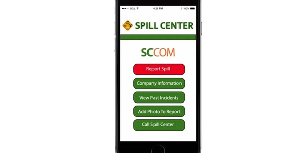 Mobile App for Hazardous Spills